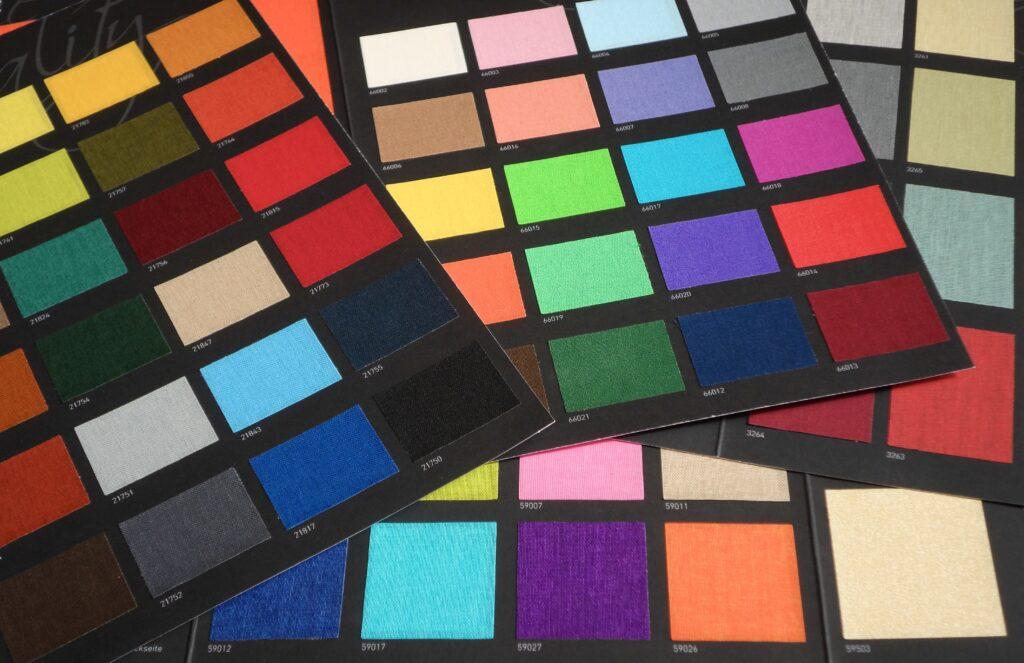 Wählen Sie Ihre Lieblingsfarbe aus