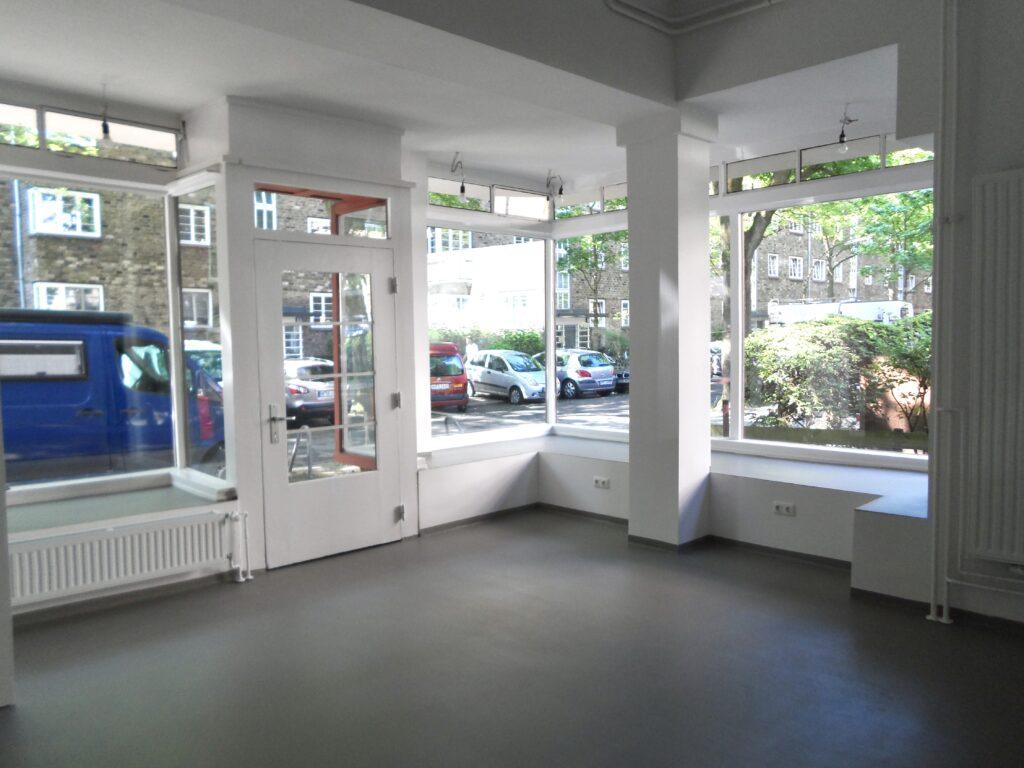 Ausblick aus der Werkstatt